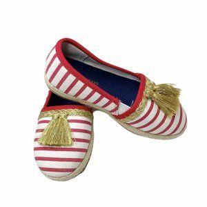 Genuine Kids Red & White Striped Gold Tassel Espad
